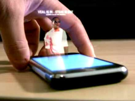 hologramm handy