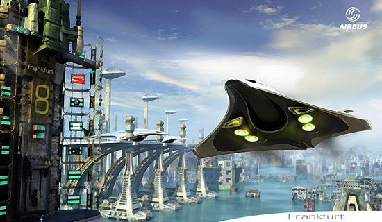 Airbus Powerglider Der Zukunft F 252 R 2050
