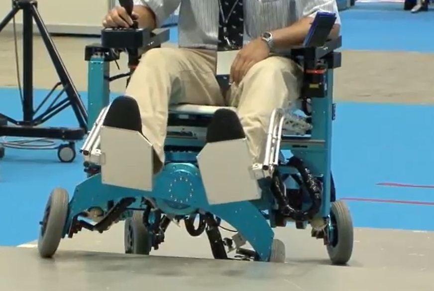 Panzer Rollstuhl