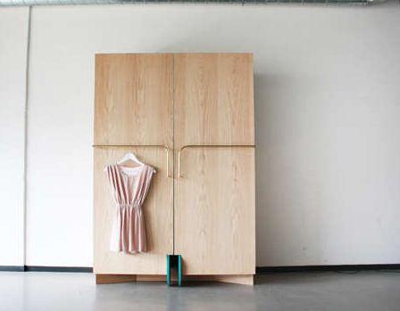 platzsparender luxus begehbarer zusammenklappbarer kleiderschrank von hosun ching. Black Bedroom Furniture Sets. Home Design Ideas
