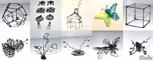 3doodler sensationeller 3d drucker als stift. Black Bedroom Furniture Sets. Home Design Ideas