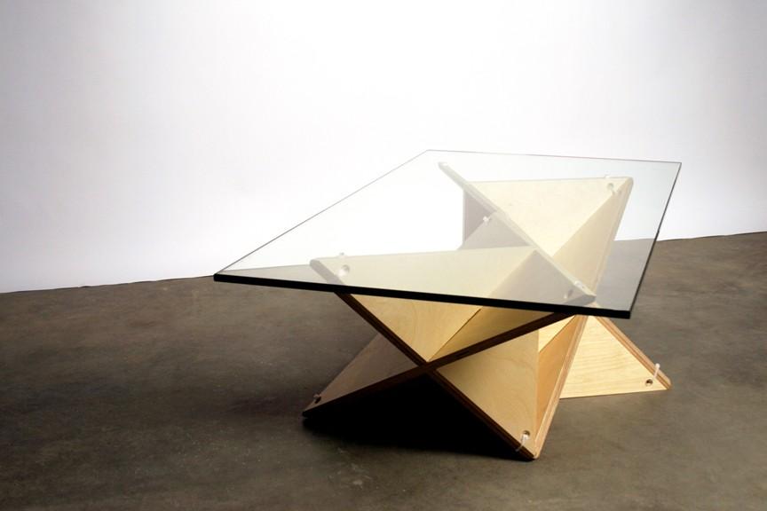 Origami Möbel t shelf faltbares origami regal für kreative individualisten