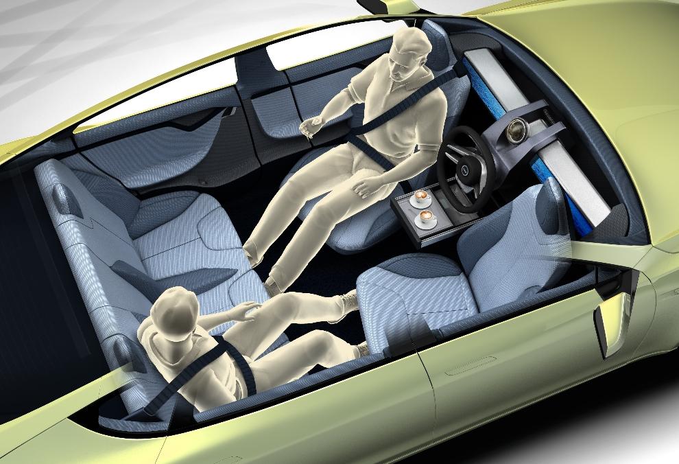 Das Auto Als Mobiles Besprechungszimmer Foto Rinspeed