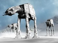 """AT-AT"" im Science Fiction-Klassiker Star Wars"