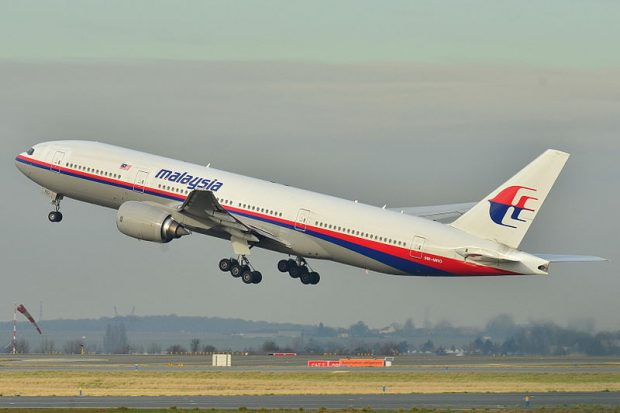 Boeing der Malaysia Airlines (Foto:Laurent ERRERA / Creative Commons)