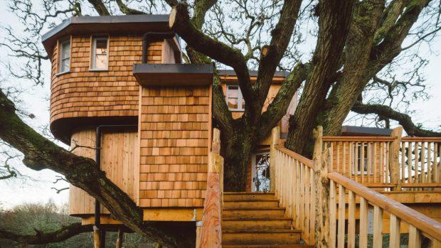 das baumhaus der zukunft leben in harmonie mit der natur. Black Bedroom Furniture Sets. Home Design Ideas