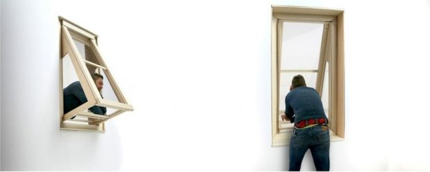 ausklappbare fenster lassen balkonfeeling aufkommen. Black Bedroom Furniture Sets. Home Design Ideas