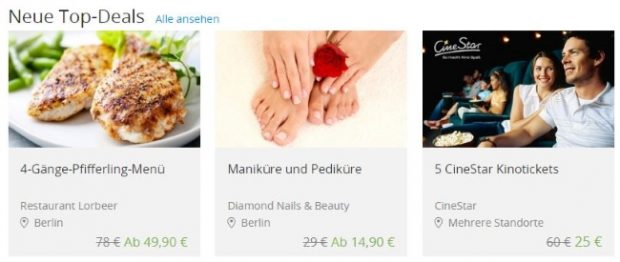 Groupon Top-Deals