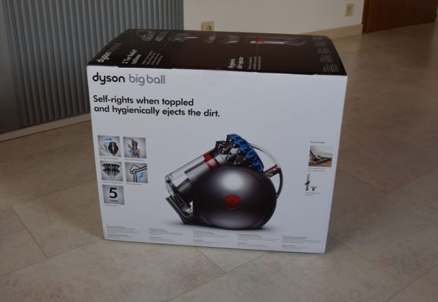 der neue dyson big ball bodenstaubsauger im test. Black Bedroom Furniture Sets. Home Design Ideas