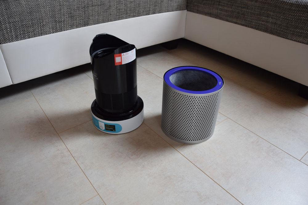smart home der neue dyson pure cool link luftreiniger und ventilator im test. Black Bedroom Furniture Sets. Home Design Ideas