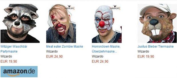 Wizardo Masken: Gruselige Halloween-Latexmasken in die Höhle der Löwen