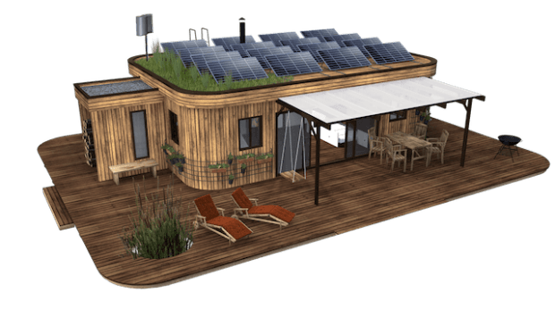 wohnwagon minihaus hersteller des energieautarken. Black Bedroom Furniture Sets. Home Design Ideas