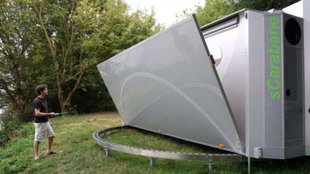 sCarabane: Futuristisches Wohnwagen-Konzept nutzt Wind- und ...